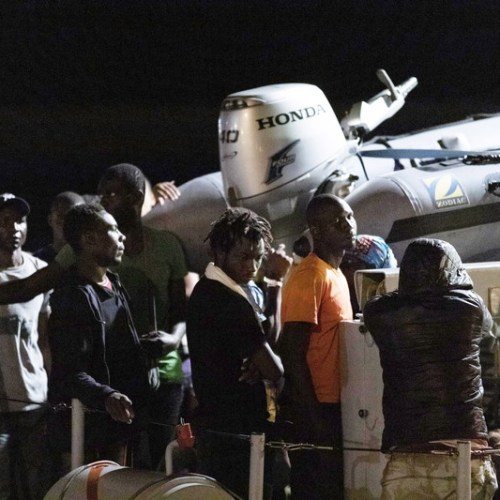 Boat carrying 48 persons arrives in Lampedusa