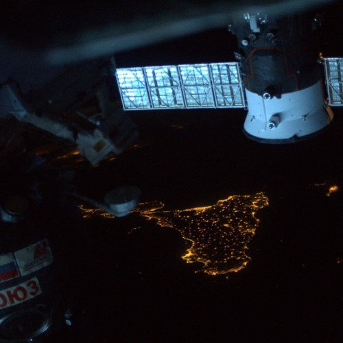 Photo Story: Malta and Sicily from space