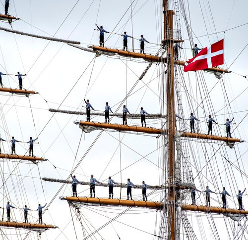 Photo: The Tall Ships Races in Aarhus