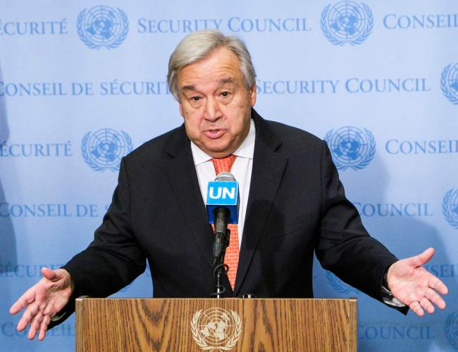 'An epidemic' of coups, U.N. chief laments, urging Security Council to act