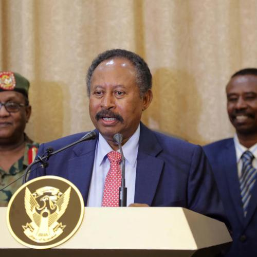 Troika statement on the appointment of  Dr. Abdalla Hamdok on his as Prime Minister of Sudan
