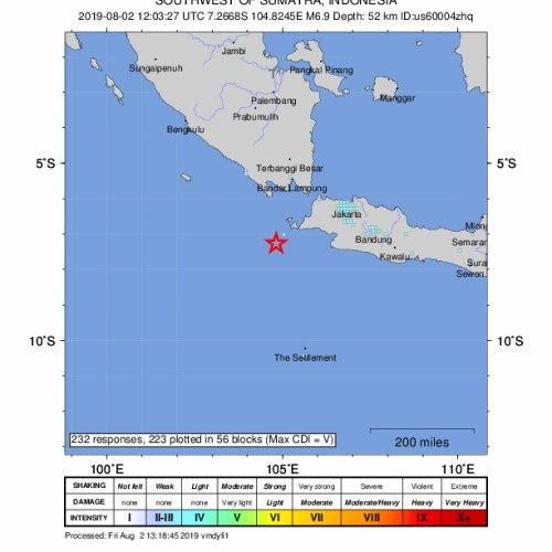 Tsunami warning after quake off coast of Indonesia lifted (UPDATED)