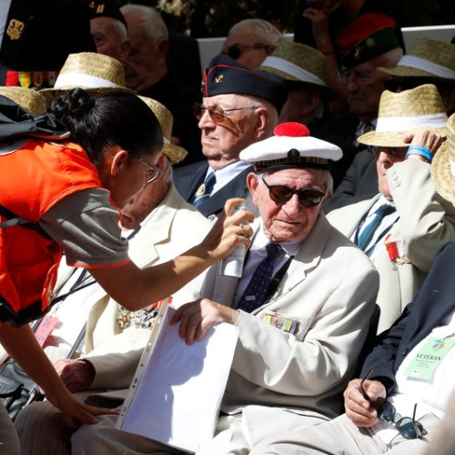Photo Story: 75th anniversary of the WWII landings on Mediterranean beaches