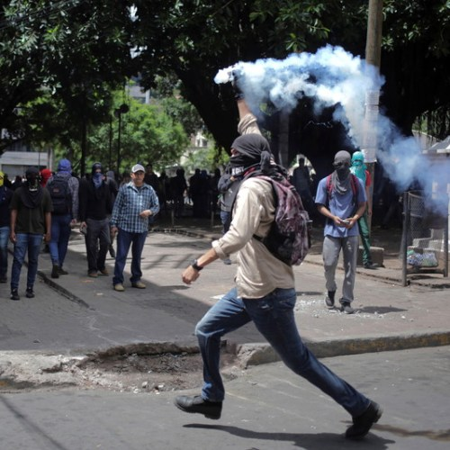 Photo Story: Protests in Honduras