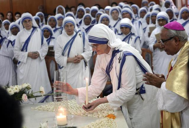 Mother Teresa's 109th birth anniversary in India