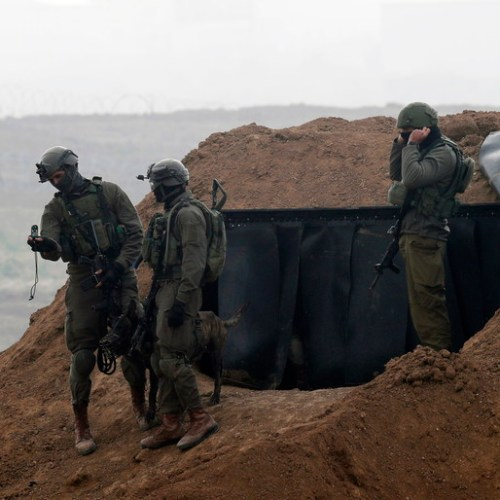 Israeli troops fire on armed Palestinian sneaking into Israel from Gaza
