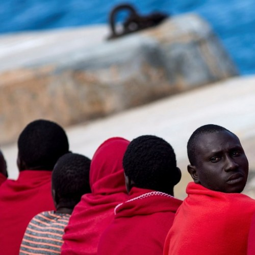 Migrant arrivals in Europe in July up slightly from previous month