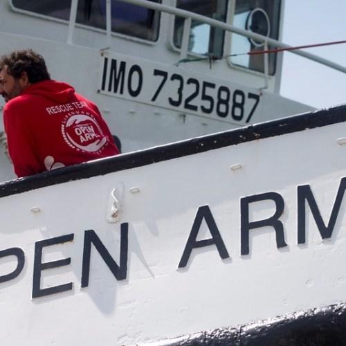 Rescue boat keeps migrant plight in spotlight as Mediterranean arrivals soar