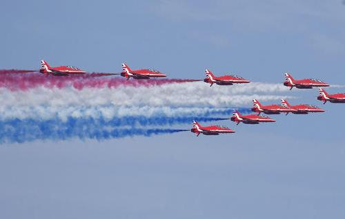 Photo Story: Red Arrows over Boston