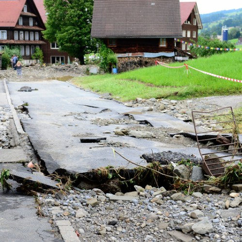 Six-year-old girl missing after violent storm in Switzerland
