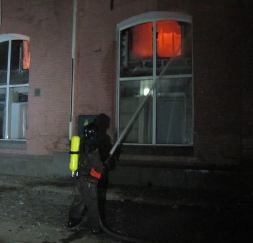 Eight people killed in Ukraine hotel fire