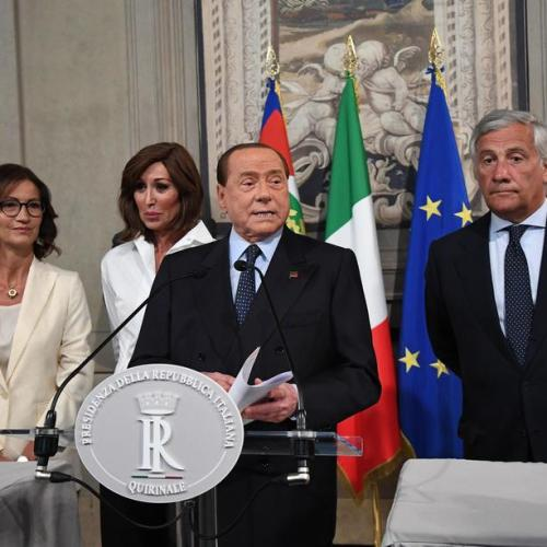 Berlusconi points finger at Salvini on how  'he gave country the to the Left'