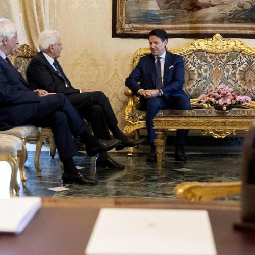 Giuseppe Conte given mandate to form government