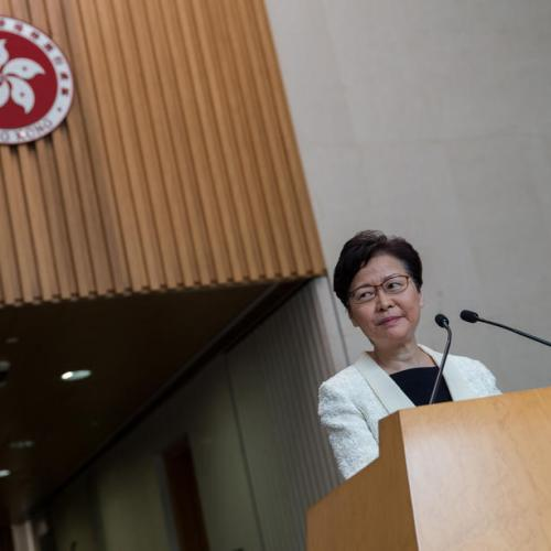 Hong Kong leader announces withdrawal of controversial extradition bill