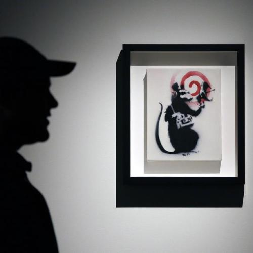Photo Story: Media preview of 'The Art Of Banksy' in Sydney