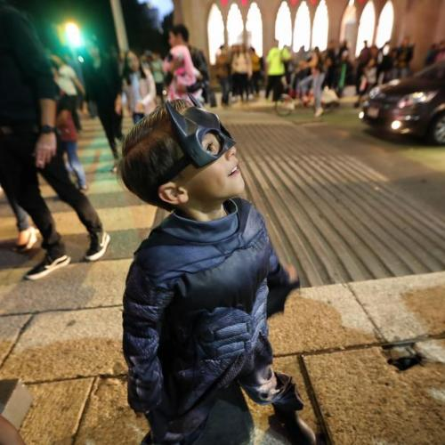 Photo Story: Celebrations of 80 years of Batman in Mexico City