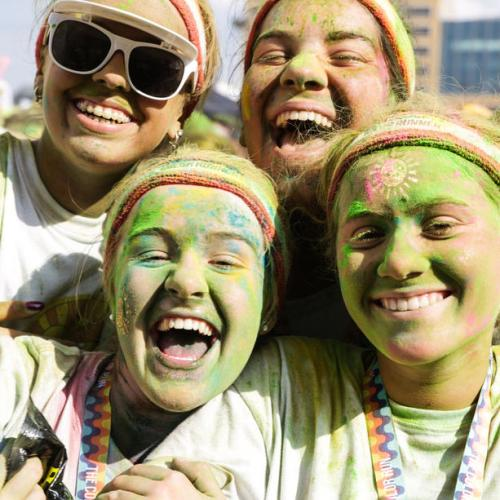 Photo Story: Color Run in Brussels