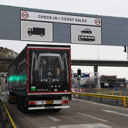Boost for hauliers' Brexit preparation as multi-million-pound campaign launched