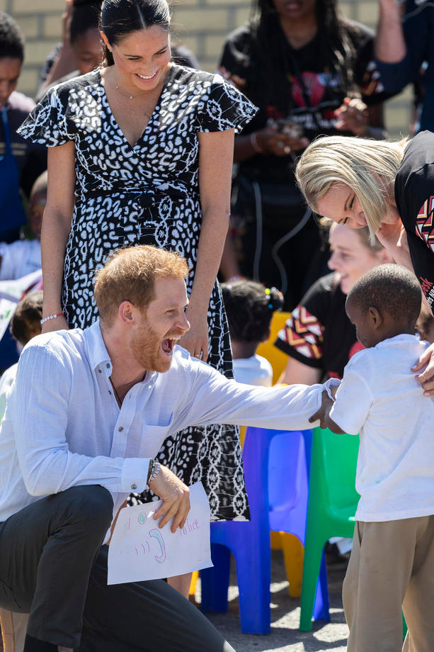 Duke and Duchess of Sussex visit