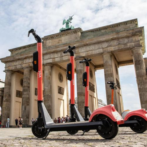 Efforts in Germany to curb e-scooter use