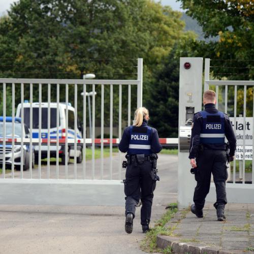 Police cybercrime raid in in former NATO bunker in Germany