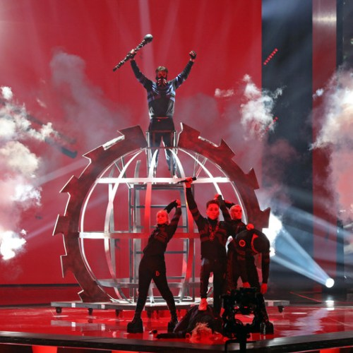 EBU fines Iceland's Hatari for display of Palestinian scarves during Eurovision final