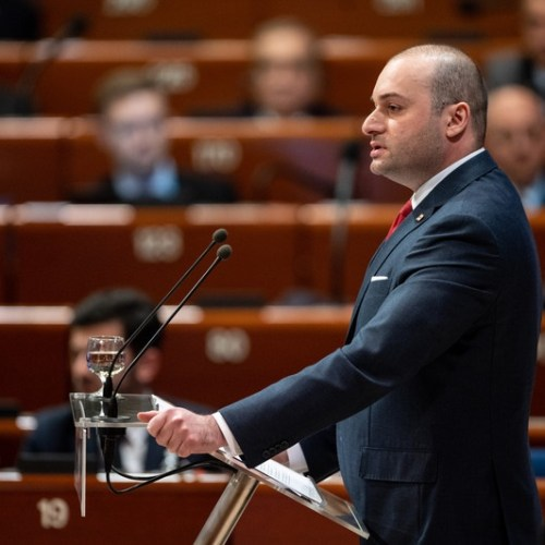 Georgian PM resigns, government steps down
