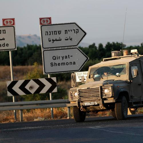 Israeli military orders extra forces to Lebanon border area