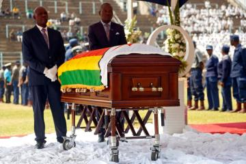 African leaders gather in Zimbabwe for Mugabe's state funeral