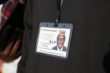 Tight security as Zimbabwe's Mugabe gets a private burial
