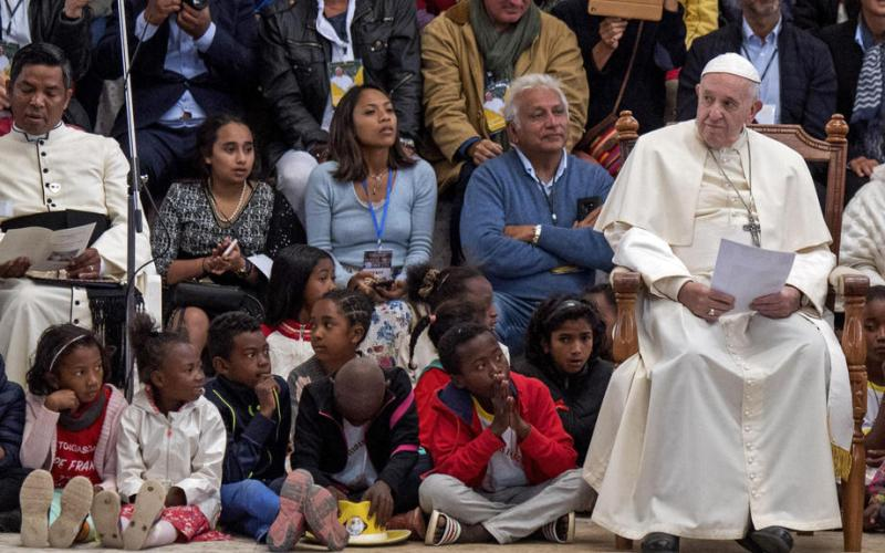 Photo Story: Over a million attend mass by Pope Francis in Madagascar