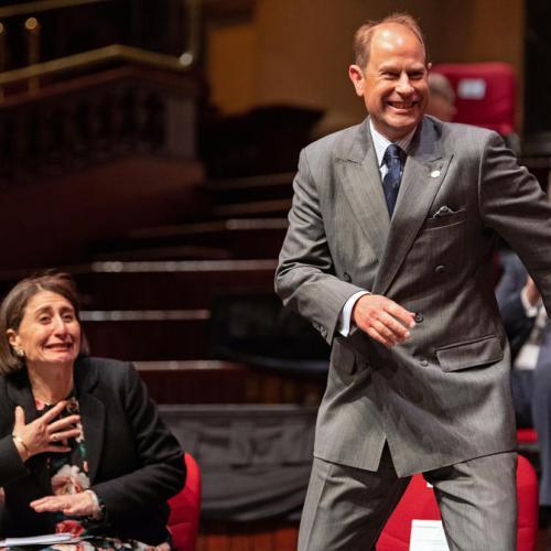 Photo Story: Prince Edward visits Sydney