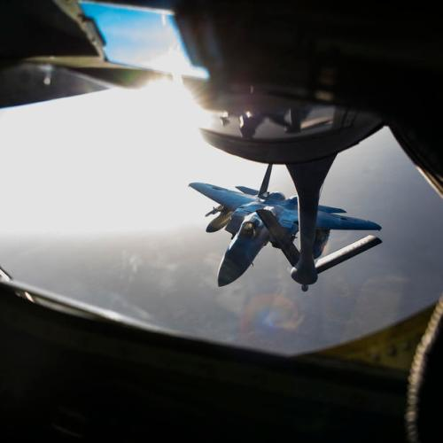 Photo story: Refuelling over Southwest Asia