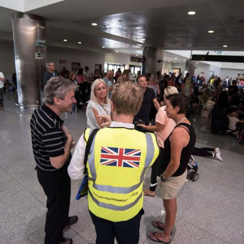 Repatriation of Thomas Cook customers to UK continues