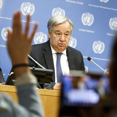 UN summits to urge 'ambition and action' on climate change, sustainable development: Guterres