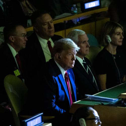 Trump is expected to make the case to keep pressure on Iran during UN General Assembly speech