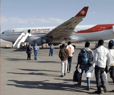 IOM Organizes First Humanitarian Charter Flight from Algeria to Niger