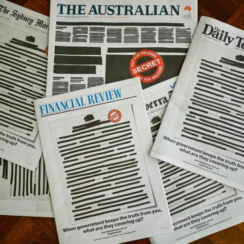 Australian media unites to rally for press freedom