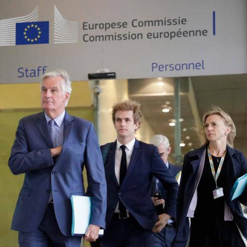 Barnier warns EU ambassadors that latest Brexit negotiations were difficult
