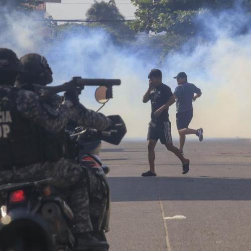 Tension in the streets of La Paz as Morales edges closer to victory