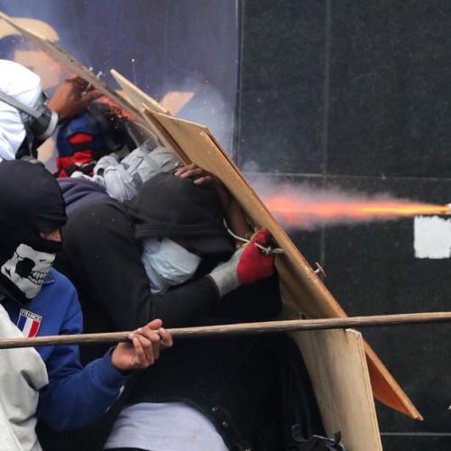 Protests persist in Quito
