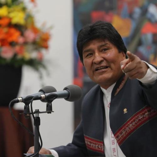 EU calls for runoff vote in Bolivia