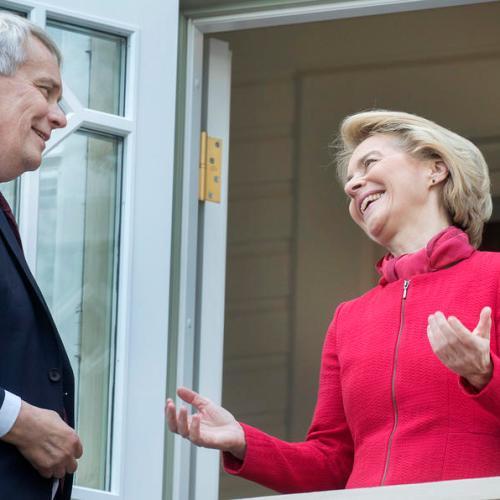 Photo Story: President-elect of European Commission Ursula van der Leyen visits Finland