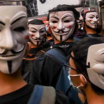 Protests against anti-mask ban and emergency regulations in Hong Kong
