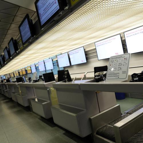 Strike by Lufthansa subsidiaries staff in Germany