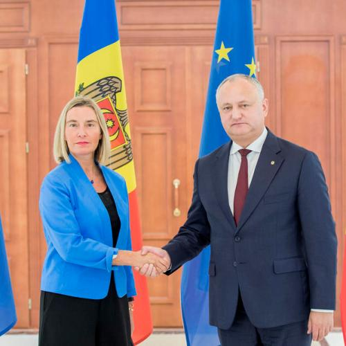 Photo Story: Federica Mogherini visits Moldova