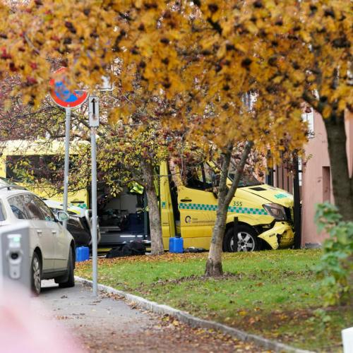 Two babies hurt in Norway after man runs down several people in stolen ambulance