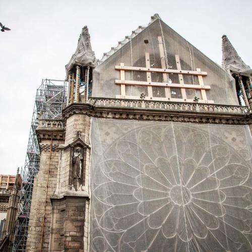 Restoration work on Notre Dame to begin next year
