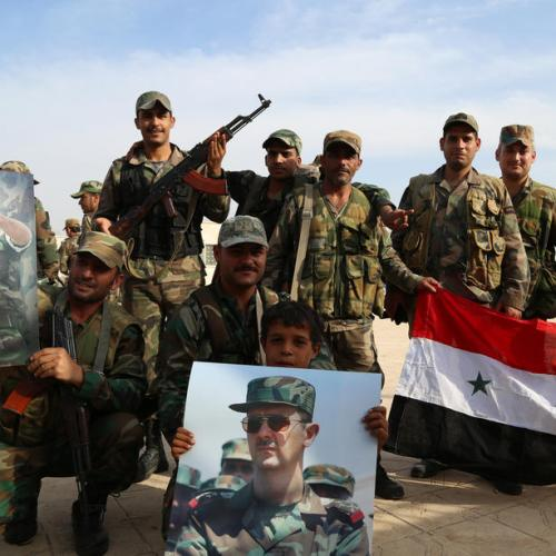 Syrian army enters birthplace of uprising under peace deal