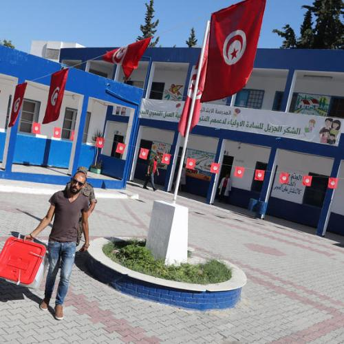 Presidential elections preparations in Tunisia